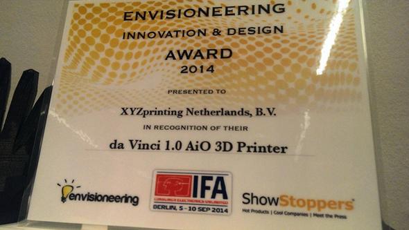 """Innovation & Design Award 2014""を受賞"