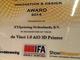 """3Dプリンタニュース:スキャナ機能搭載の3Dプリンタ「ダヴィンチ 1.0 AiO」が""""Innovation & Design Award 2014""""を受賞"""