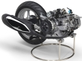 「Nozza Grande」に搭載している次世代小型エンジン「BLUE CORE」