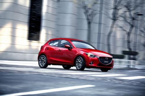 新型「Mazda2」の外観。写真は日本仕様の「デミオ」