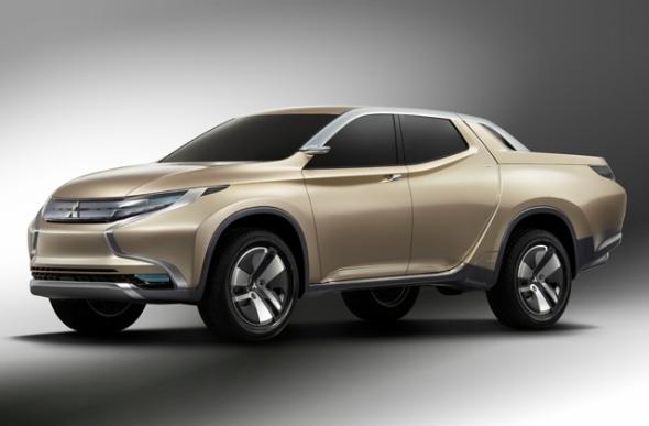 三菱自動車のピックアップトラックのコンセプトカー「Concept GR-HEV」