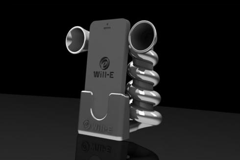 Will−Eさんの「iPhone用無電源スピーカー」