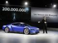 グループ累計生産2億台目の車両となった「XL スポーツ」