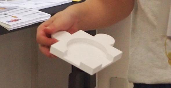 3Dプリンタで試作