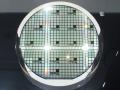 トレンチ型SiC-MOSFETを作り込んだ6インチのSiCウエハー