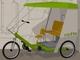 2020年のタクシーは自転車! 防水段ボール構造+電動アシストで2人運べる