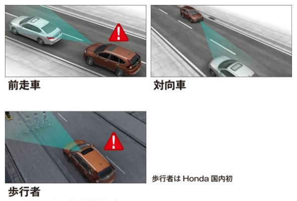 「衝突軽減ブレーキシステム」のイメージ