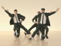 「UNI-CUB β」に乗ってパフォーマンスする「OK Go」のメンバー