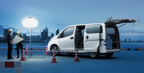 日産自動車の電気商用車「e-NV200」