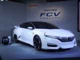 「Honda FCV CONCEPT」の外観