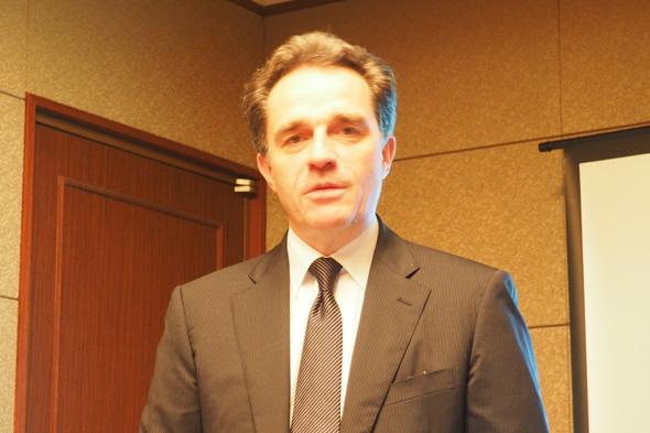 ダッソー・システムズ・ソリッドワークス 最高経営責任者(CEO)のベルトラン・シコ(Bertrand Sicot)氏
