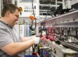 Deutsche ACCUmotiveにおけるリチウムイオン電池生産の様子