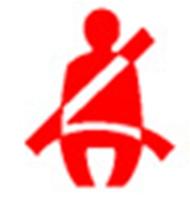 シートベルト非装着警告灯