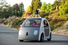 2014年5月発表時のGoogleの新しい自動運転車