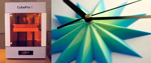 「CubePro C」と出力サンプル