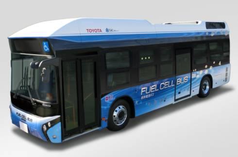 新開発の燃料電池バス「FCバス」