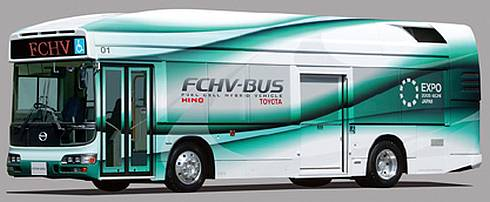 燃料電池バス「FCHV-BUS2」
