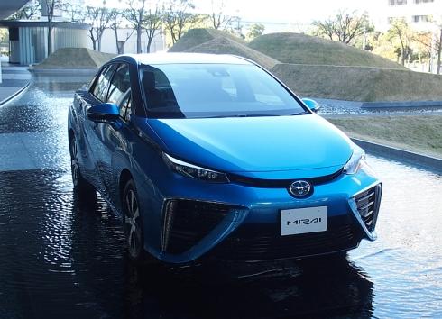 トヨタ自動車の「ミライ」