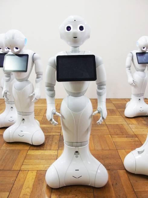 ソフトバンクロボティクスのパーソナルロボット「Pepper」