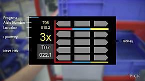 AR映像が示す作業情報の詳細