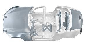 「NDモデル」のアルミニウム採用部位