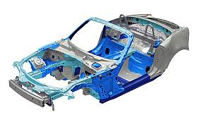 「NDモデル」の高張力鋼板採用部位