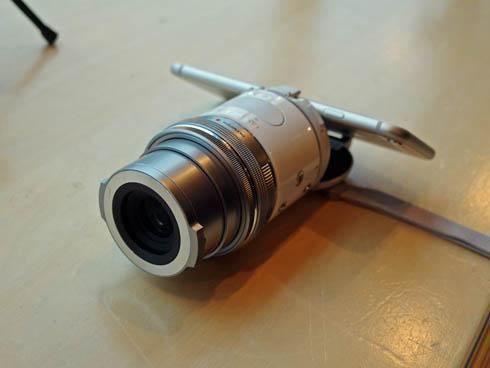 オープンプラットフォームカメラ「OLYMPUS AIR A01」