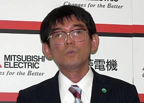 三菱電機の米田健氏
