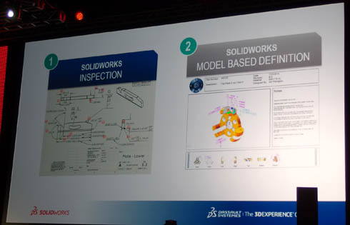 「SOLIDWORKS INSPECTION」と「SOLIDWORKS MODEL BASED DEFINITION」