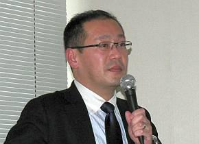 千住金属工業の日渡逸人氏