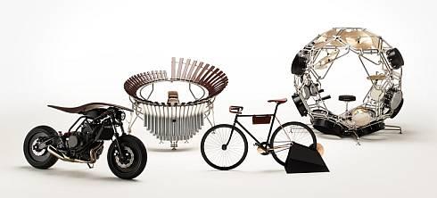 ヤマハとヤマハ発動機の「第9回サンテティエンヌ国際デザインビエンナーレ2015」の出展作品