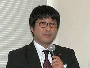 日本スペリア社の不可三拓郎氏