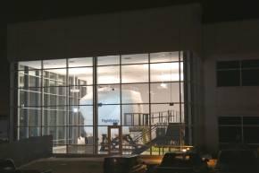 ホンダジェットトレーニングセンターの外観