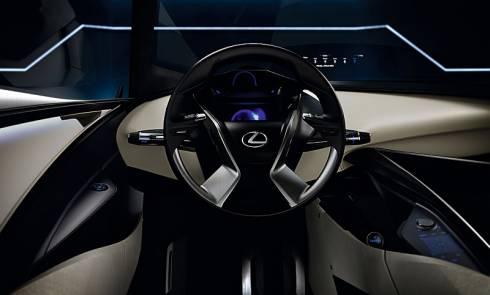 「LF-SA」の運転席