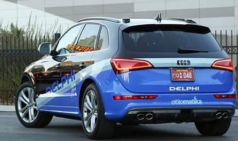 米国横断に挑むデルファイの自動運転車