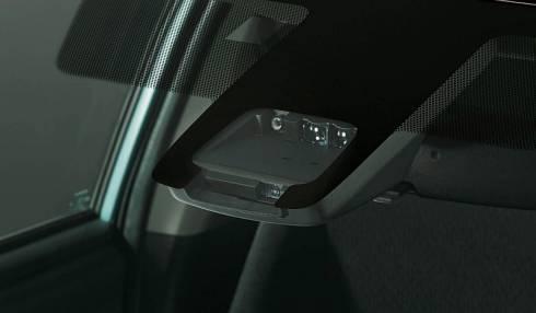 「Toyota Safety Sense C」のセンサー部