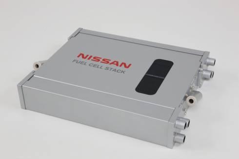 2011年に発表した燃料電池スタックの外観