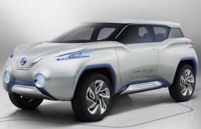 「パリモーターショー2012」で発表した燃料電池車のコンセプトカー「TeRRA」