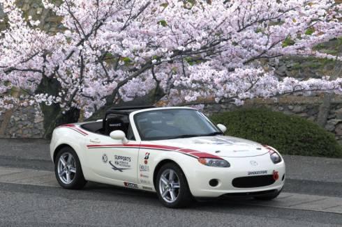 「Mazda Women in Motorsport Project 2015」のトレーニング用車両