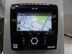 「3D銅タッチパネルモジュール」を用いた車載情報機器の開発例