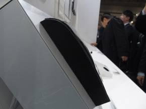 「3D銅タッチパネルモジュール」は曲面化が可能
