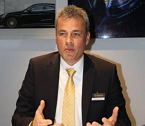 メルセデス・ベンツブランドのSUV開発責任者を務めるヴォルフ・ディーター・クルツ氏