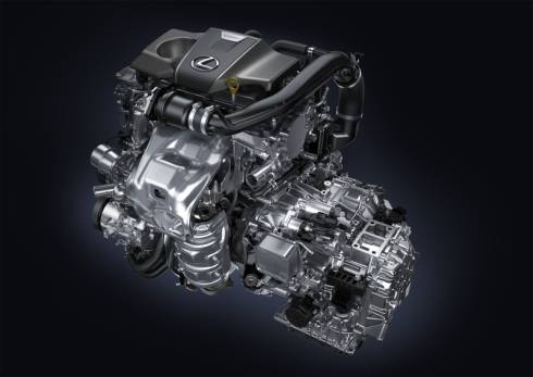 「RX200t」に搭載される排気量2.0lの直噴ターボガソリンエンジン「8AR-FTS」