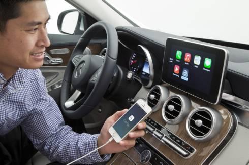アップルの「CarPlay」はiPhoneのアプリを車載機器で利用するためのものだ