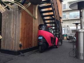 狭小スペースの駐車スポットとしての活用事例
