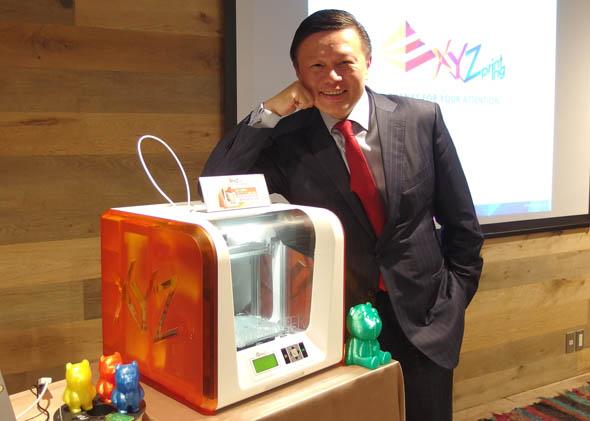 新金宝グループ CEO 兼 XYZprinting 会長 兼 XYZプリンティングジャパン 代表取締役の沈軾栄(サイモン・シェン)氏
