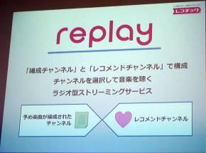 「replay」の機能