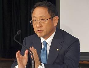 トヨタ自動車の豊田章男氏