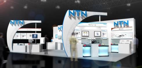 NTNの「人とくるまのテクノロジー展2015」のブースイメージ