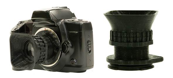 レンズ交換式カメラ用レンズ「FAB-LENS(ファブレンズ)」の利用イメージ